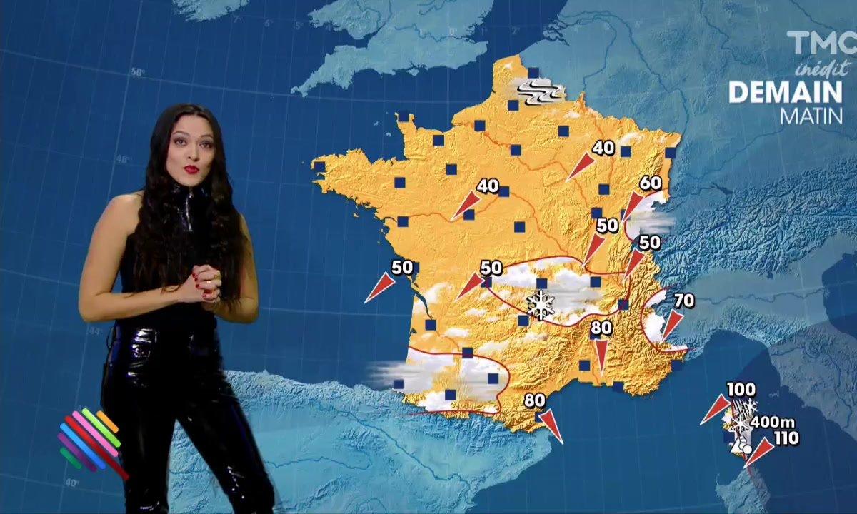 La météo du 17 janvier est présentée par Mai Lan