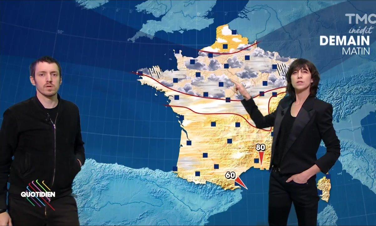 La météo du 17 novembre par Charlotte Gainsbourg et Sebastian