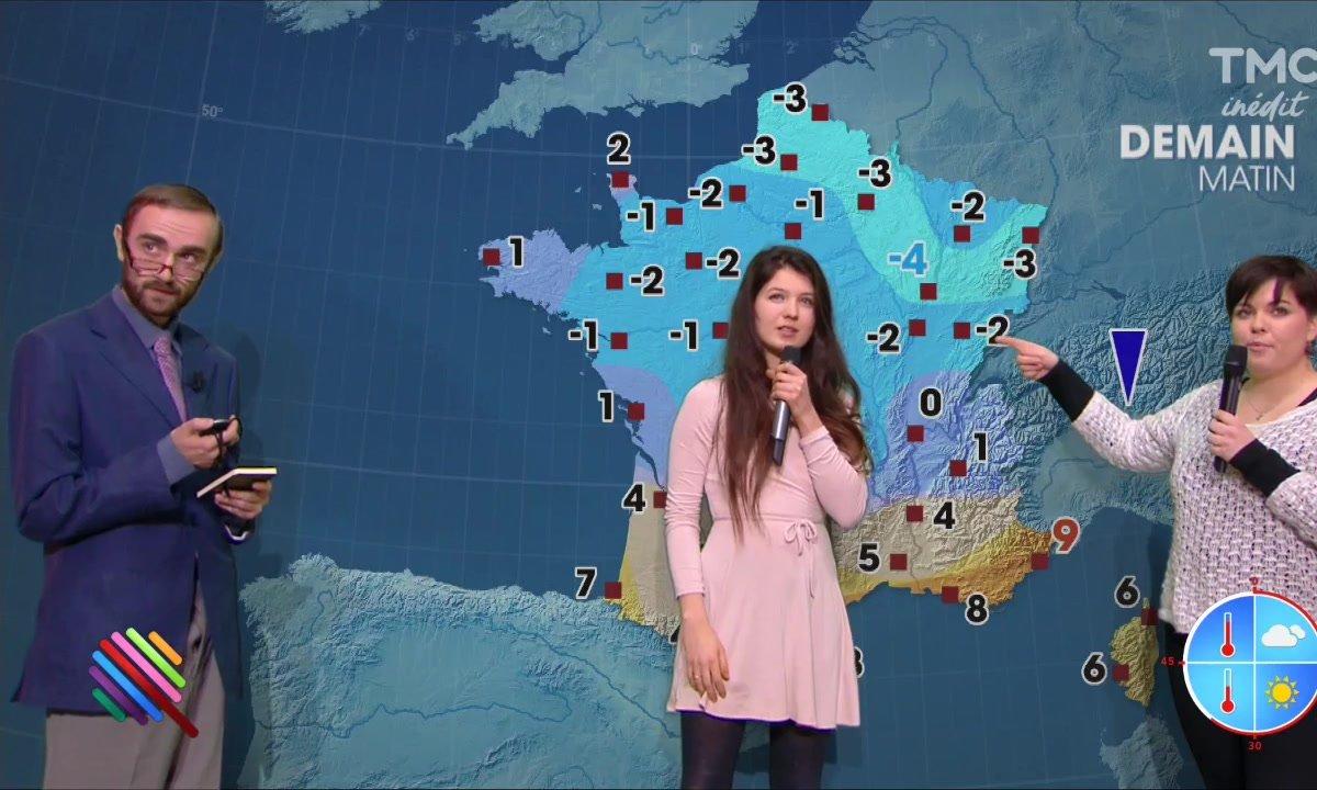 La météo du 28 novembre est présentée par Laura et Clémentine