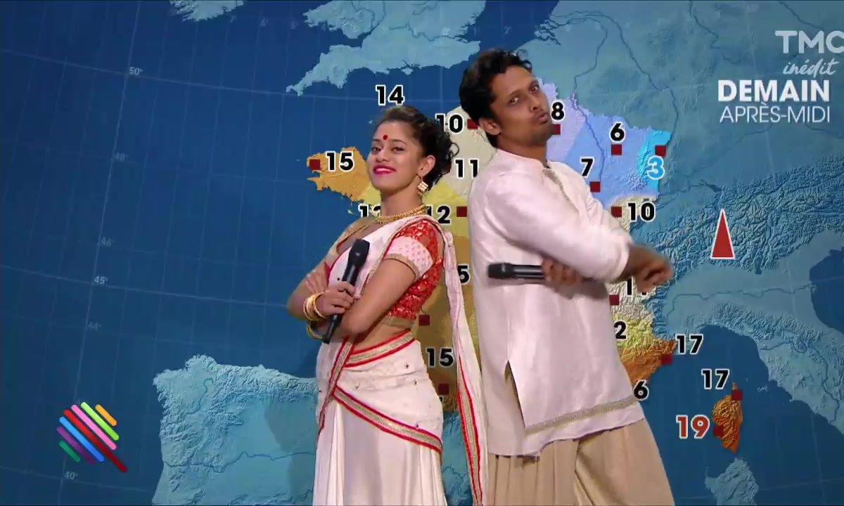 La météo du 7 décembre par la troupe de Bharati 2