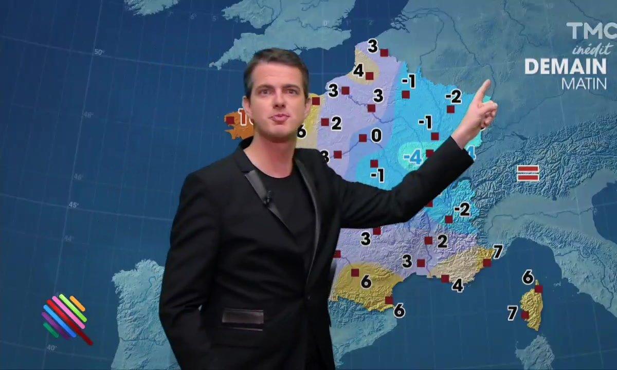 La météo du 8 décembre par Philippe Jaroussky