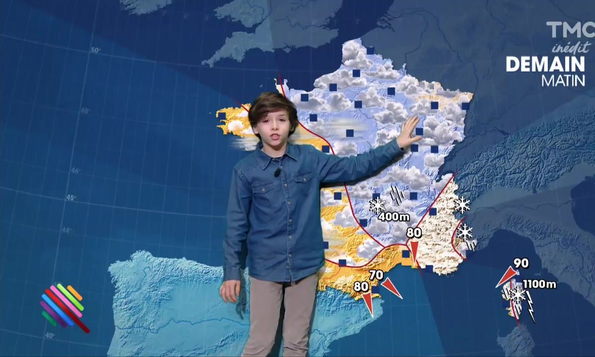 La météo du 8 février by Timothé Vom Dorp