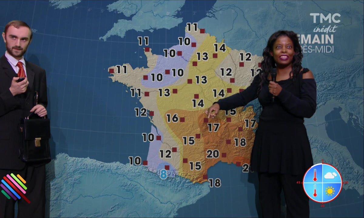 La météo du 22 novembre présentée par Joëlle