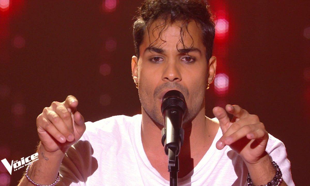 "The Voice 2021 - Metodi chante ""Parle à ta tête"" de Indila"