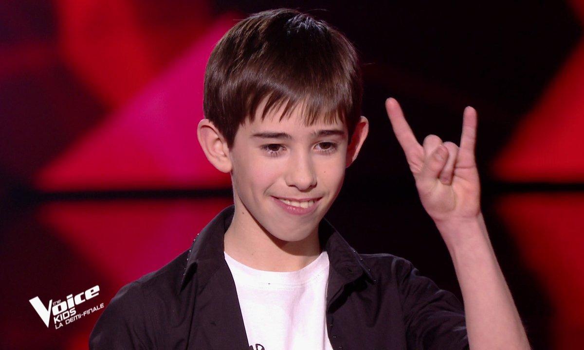 The Voice Kids : Michel chante « We will rock you » de Queen (Team Patrick Fiori)