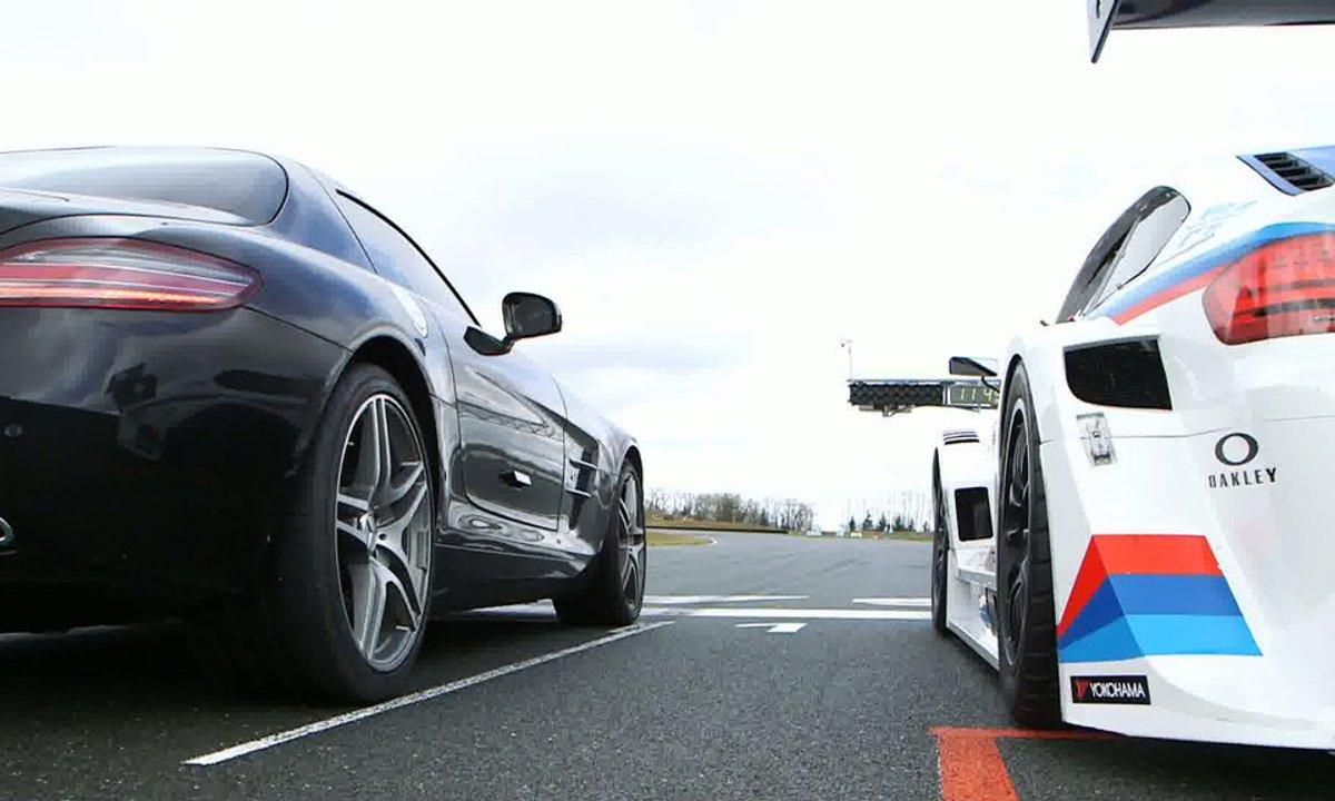 Bonus Web : Vivez le duel Mitjet vs Mercedes SLS au plus près