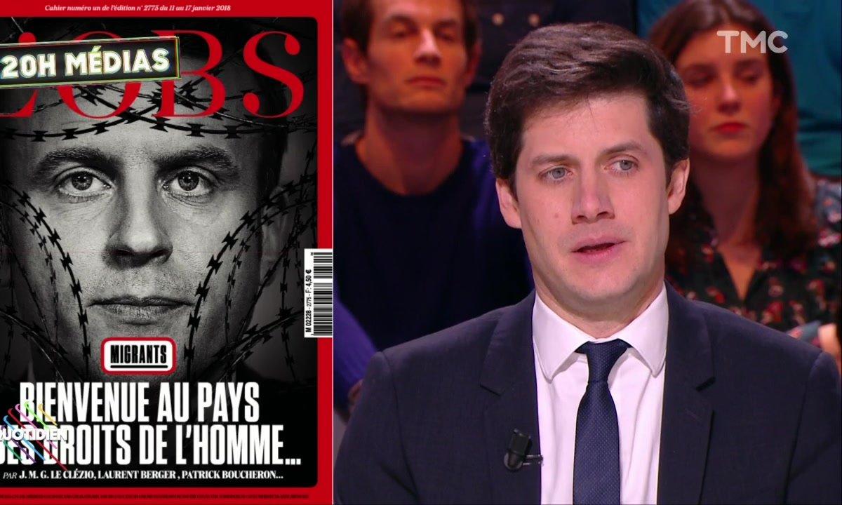 Migrants : Julien Denormandie réagit à la couverture de L'Obs