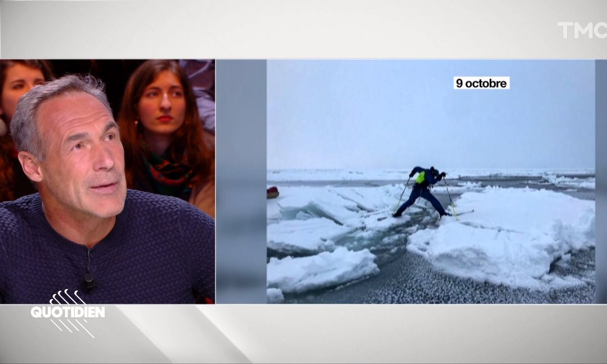 """Mike Horn revient sur son expédition en Arctique : """"On ne pouvait pas abandonner"""""""