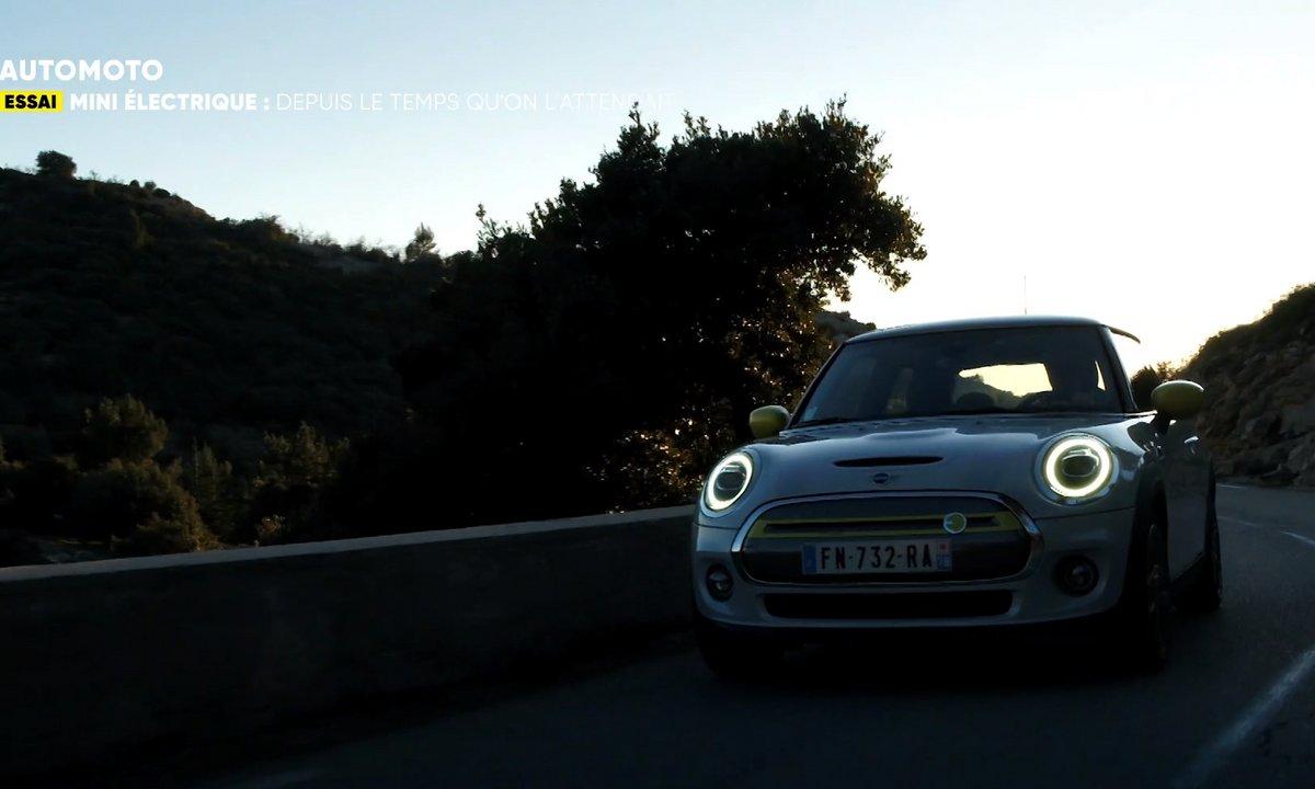 Essai : La Mini Cooper SE, un passage à l'électrique remarqué