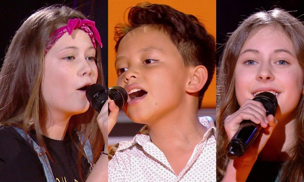 Les Mini Div VS Natihei VS Léna chantent « Un, deux, trois » de Fredericks Goldman Jones (Team Jenifer)