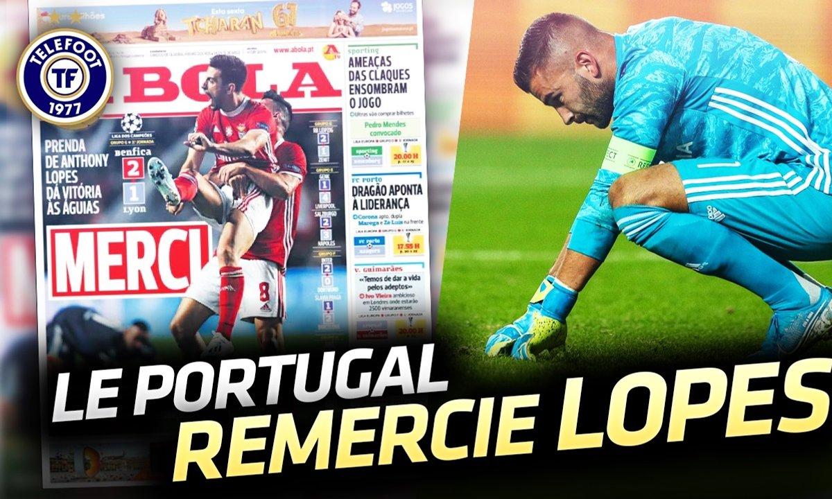 """La Quotidienne du 24/10 : Anthony Lopes """"star"""" malgré lui"""