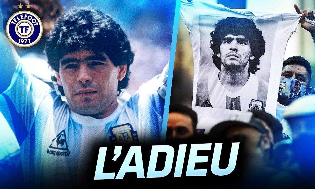 La Quotidienne du 27/11 : les adieux du peuple argentin à Maradona