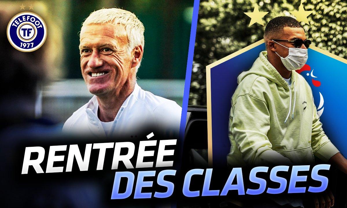 La Quotidienne du 01/09 : les Bleus enfin de retour !