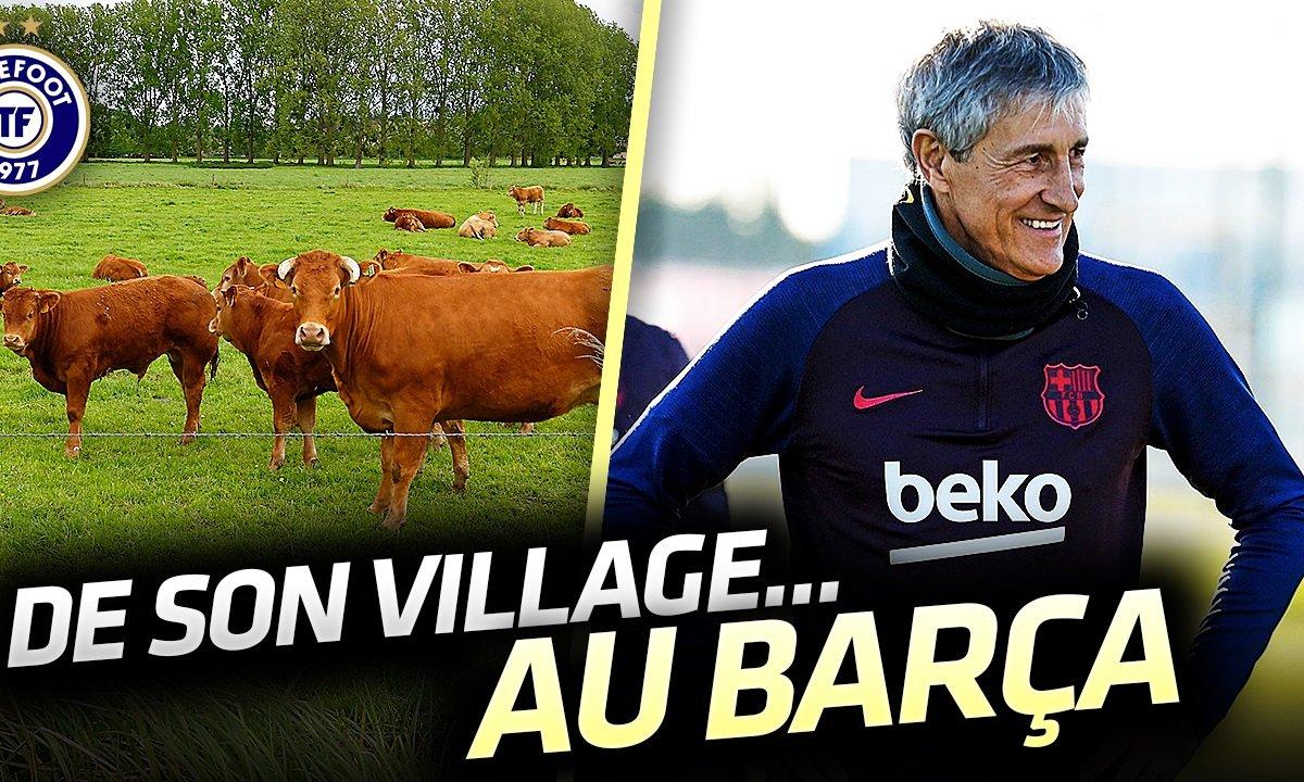"""La Quotidienne du 14/01 : Quique Setien, des vaches aux """"meilleurs joueurs du monde"""""""