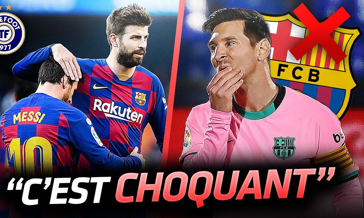 La Quotidienne du 23/10 : Piqué TACLE le Barça et soutient Messi
