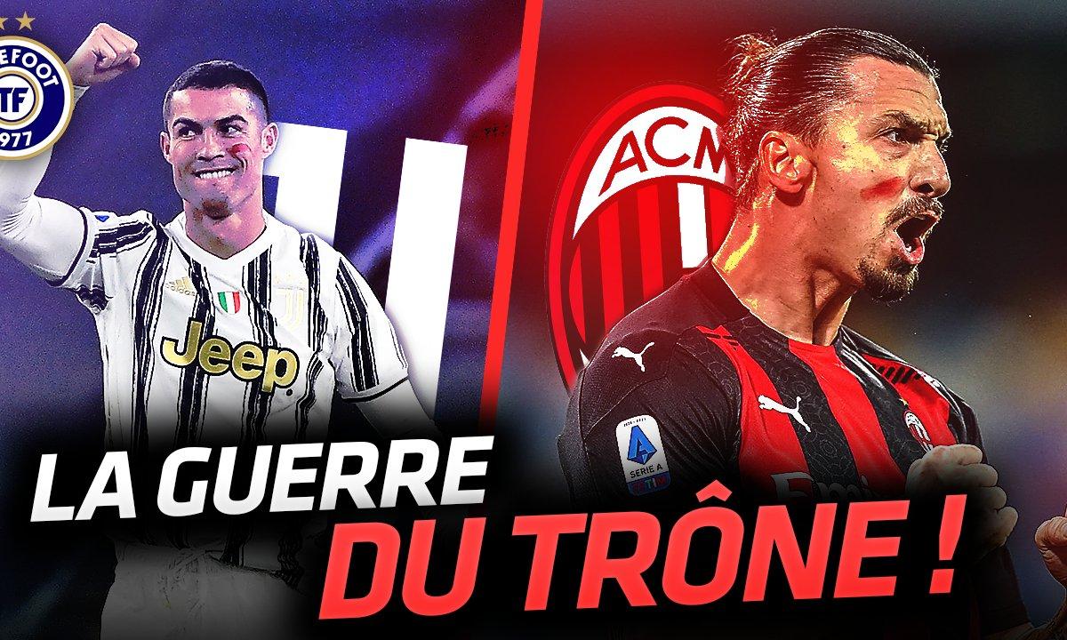 La Quotidienne du 23/11 - Cristiano Ronaldo VS Zlatan : la guerre en Serie A