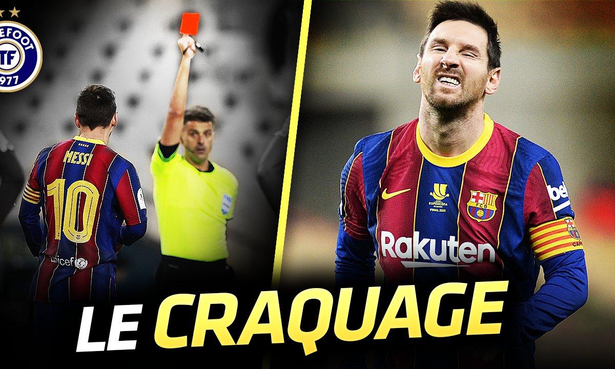La Quotidienne du 18/01 : Pour la première fois, Messi pète un plomb