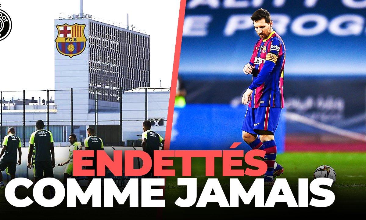 La Quotidienne du 26/01 : la situation critique du Barça