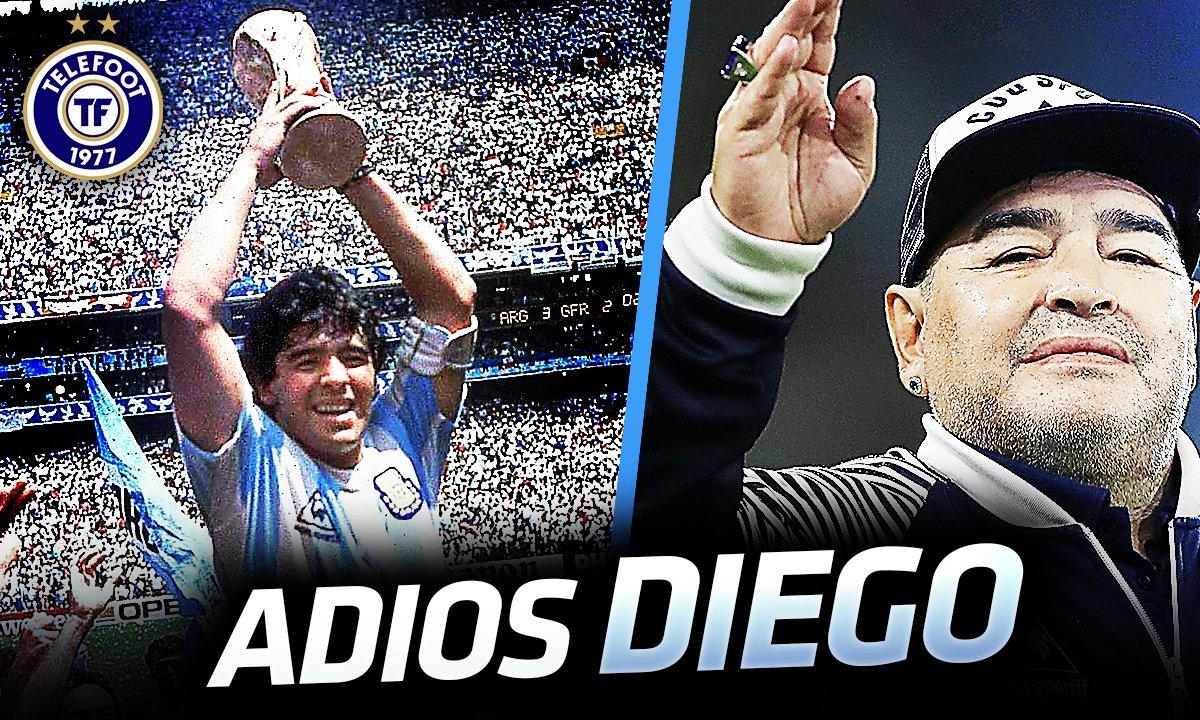 La Quotidienne du 25/11 : la légende Maradona nous a quittés