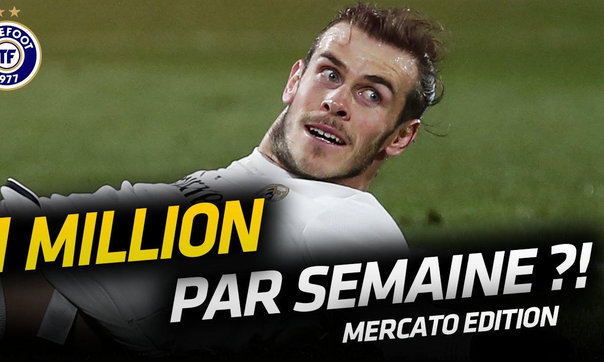 La Quotidienne Mercato du 22/07: Bale, le joueur le mieux payé au monde ?