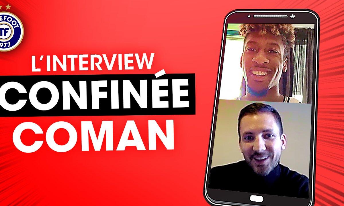 """""""Vu la situation, c'est normal pour nous d'aider"""" : l'interview confinée de Kingsley Coman"""