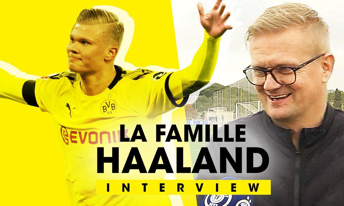 """EXCLU - Alfie Haaland : """"Mbappé est l'un des modèles de mon fils"""""""
