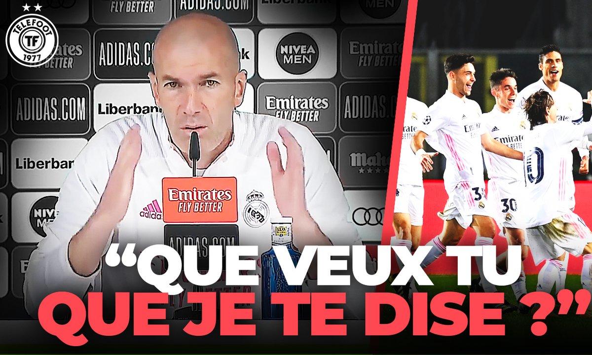 La Quotidienne du 01/03 : Zidane recadre un journaliste
