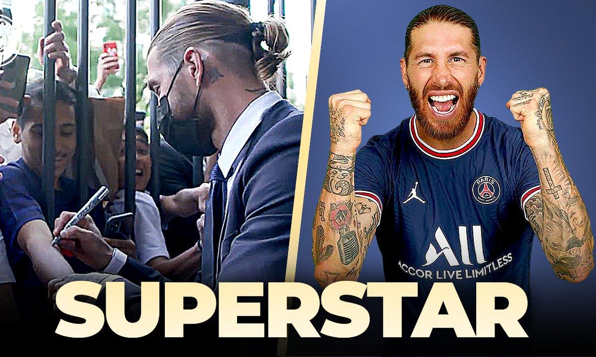 La Quotidienne du 08/07 : Sergio Ramos débarque en superstar au PSG !