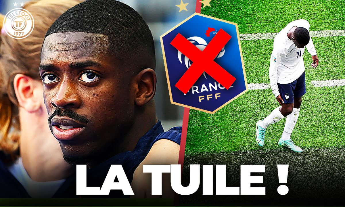 La Quotidienne du 22/06 : La terrible nouvelle pour Dembélé et les Bleus !