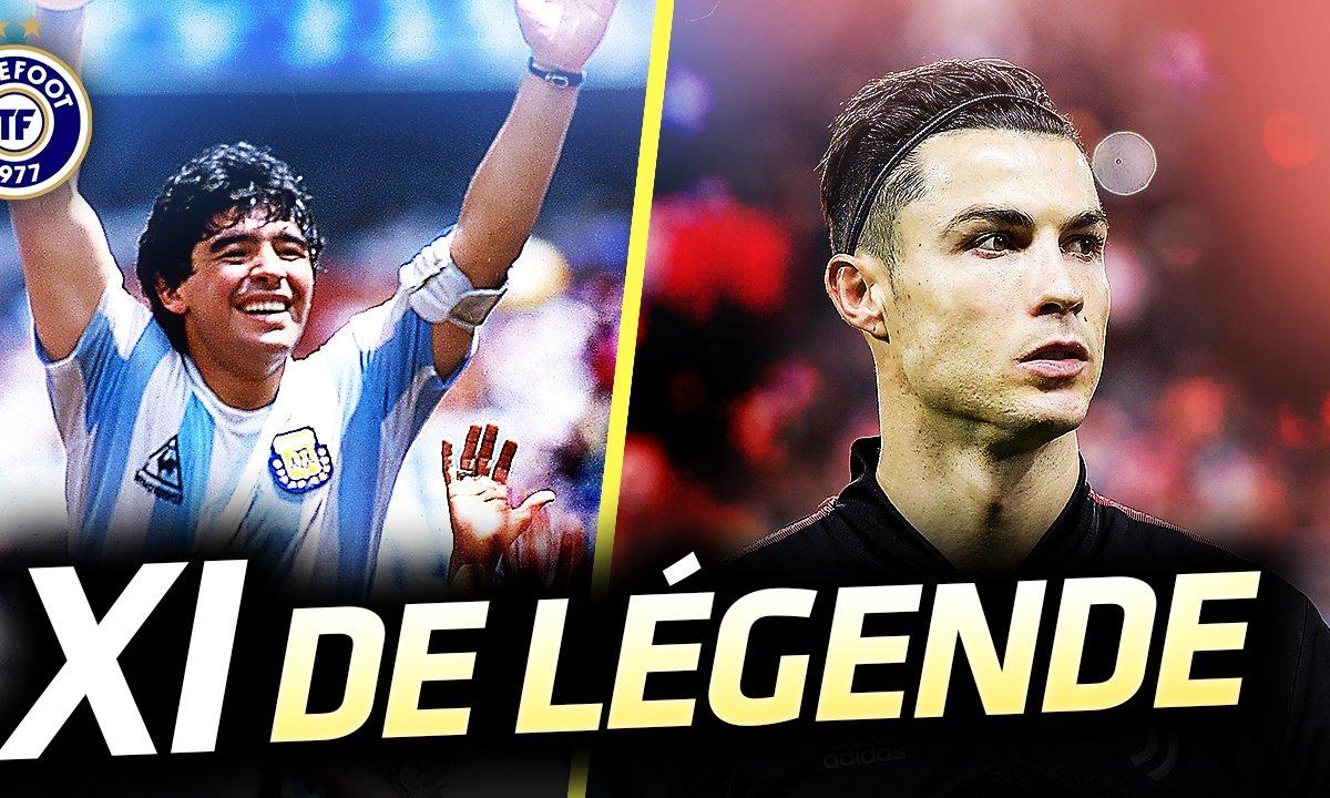 La Quotidienne du 15/12 : CR7, Maradona, Messi : le meilleur XI de l'histoire dévoilé !