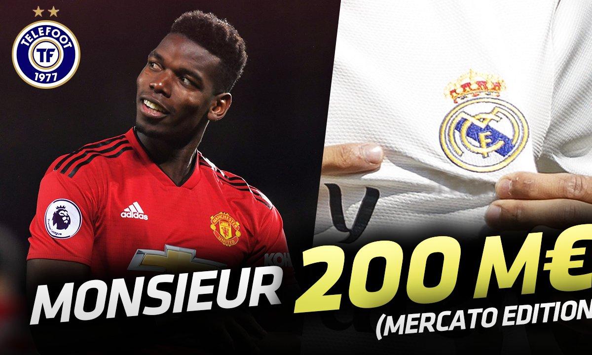 La Quotidienne Mercato du 17/07: Pogba, Monsieur 200 millions