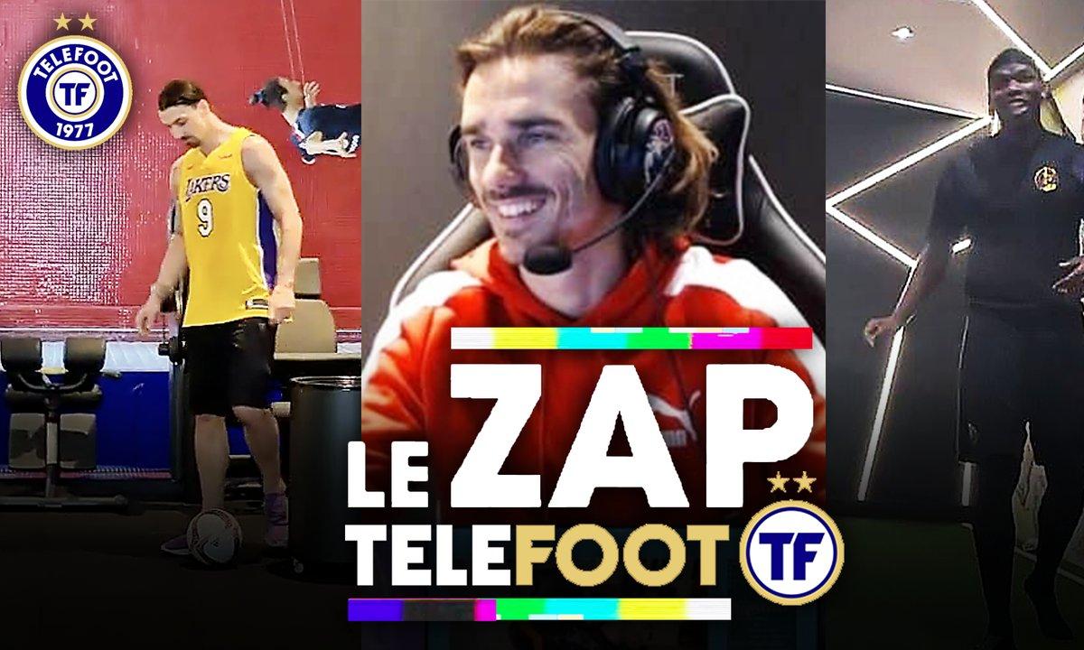 Zap Telefoot #7 : Griezmann CHOQUE Gotaga sur Warzone, le défi Pogba / Zlatan