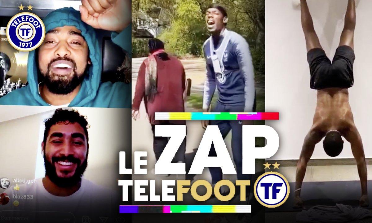 Zap Telefoot #9 : Payet se confie à Alonzo, Pogba met un petit pont à la maman
