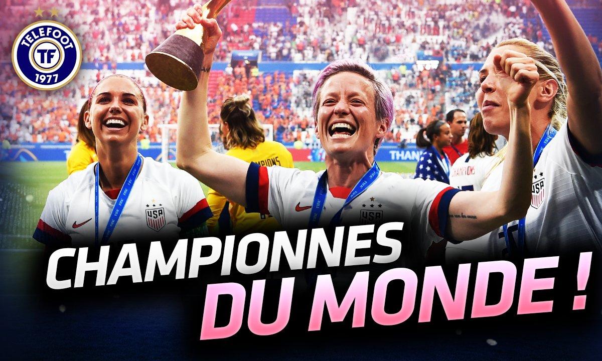 La Quotidienne du 07/07: Les USA championnes du monde !