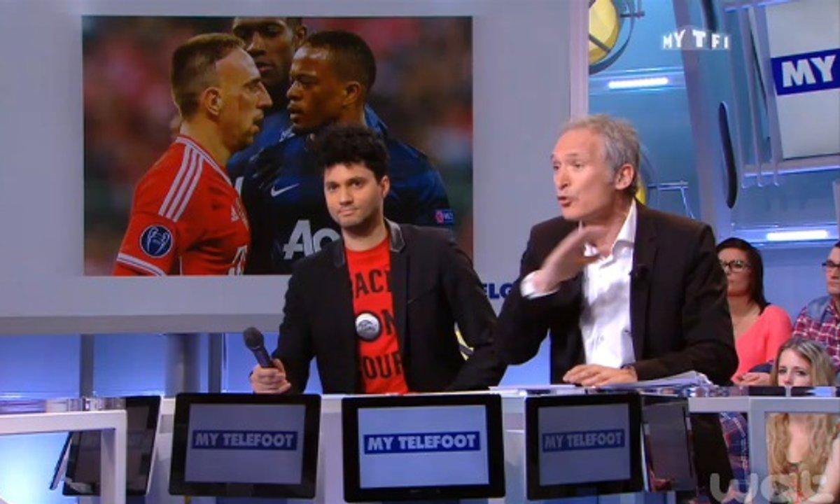 """MyTELEFOOT - La Minute Belge de Stéphane Pauwels : """"Ribéry et Evra doivent rester dignes"""""""