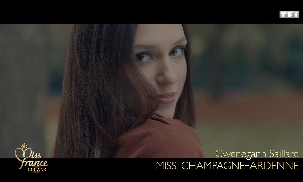Miss Champagne-Ardenne 2020 est Gwenegann Saillard (candidate à Miss France 2021)
