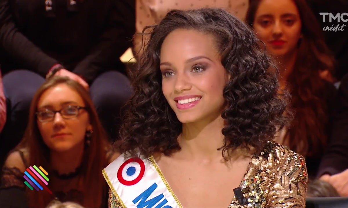 Miss France 2017 : le premier talk-show d'Alicia Aylies