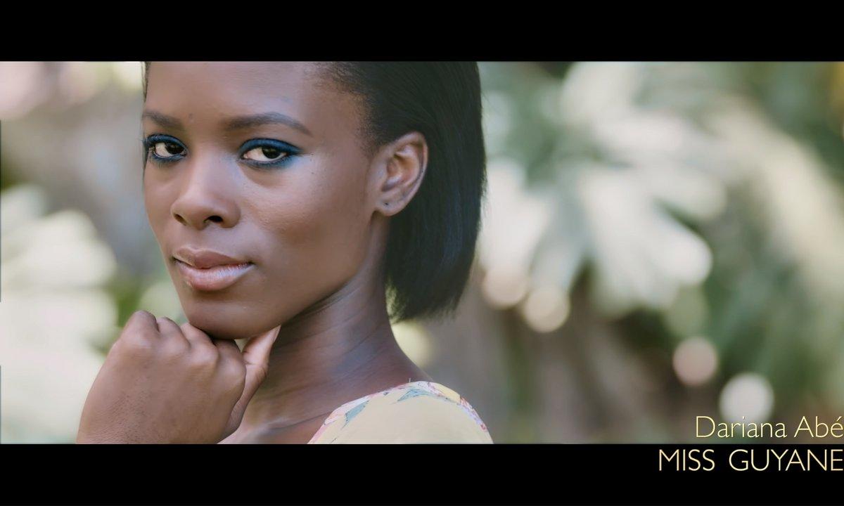 Miss Guyane 2019, Dariana Abe