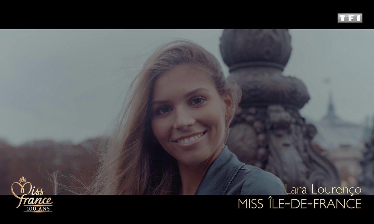 Miss Ile-de-France 2020 est Lara Lourenço (candidate à Miss France 2021)