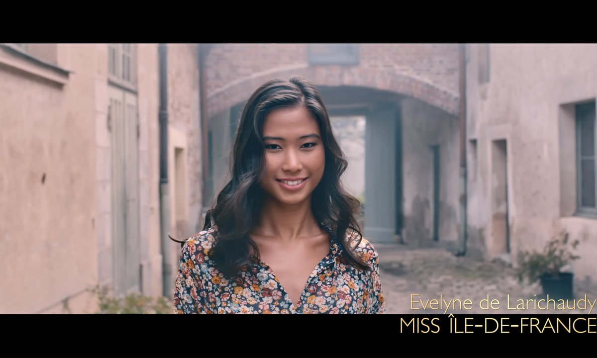 Miss Ile-de-France 2019, Evelyne de Larichaudy