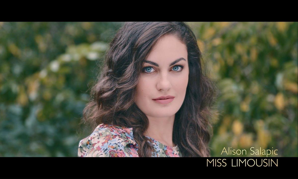 Miss Limousin 2019, Alison Salapic