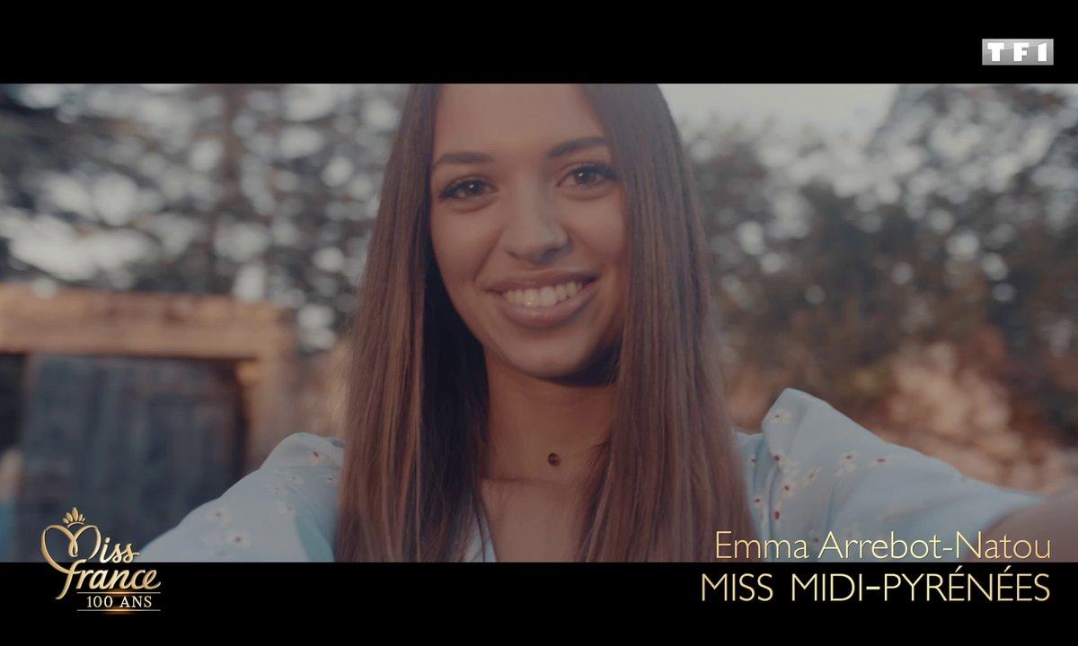 Miss Midi-Pyrénées 2020 est Emma Arrebot-Natou (candidate à Miss France 2021)
