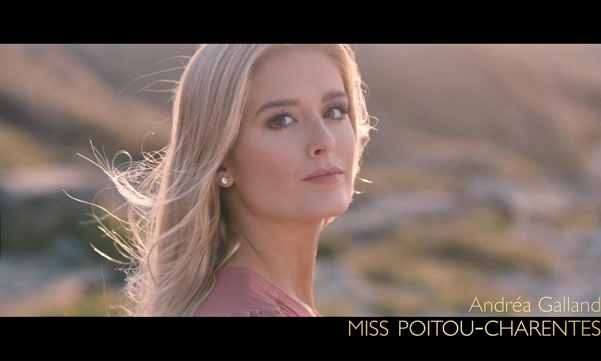 Miss Poitou-Charentes 2019, Andréa Galland