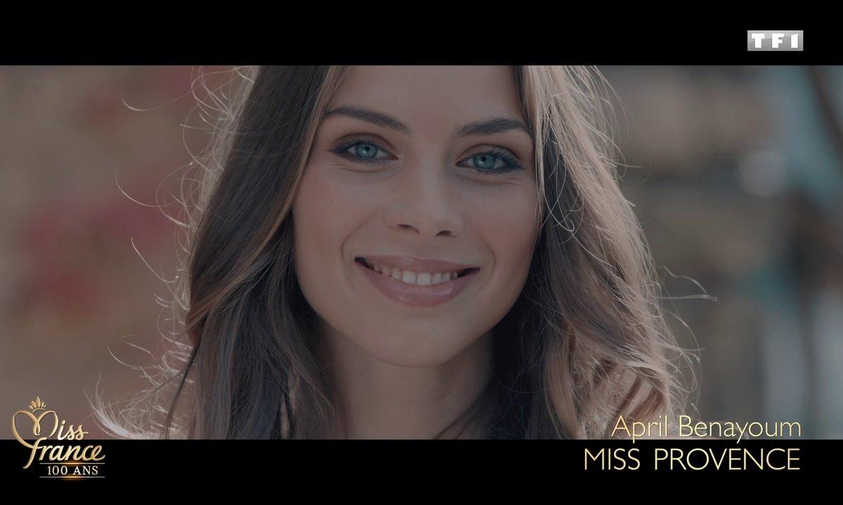 Miss Provence 2020 est April Benayoum (candidate à Miss France 2021)