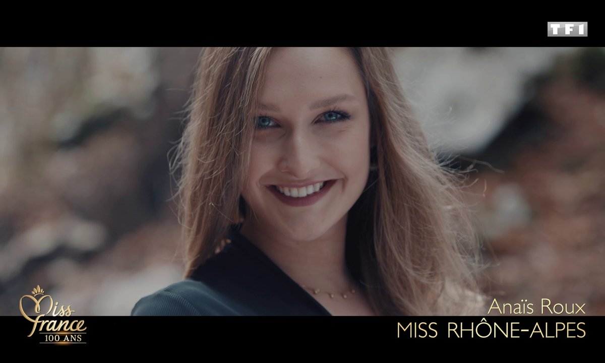 Miss Rhône-Alpes 2020 est Anaïs Roux (candidate à Miss France 2021)