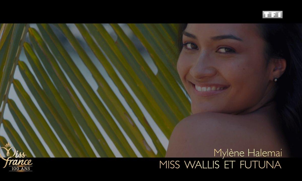 Miss Wallis-et-Futuna 2020 est Mylène Halemai (candidate à Miss France 2021)