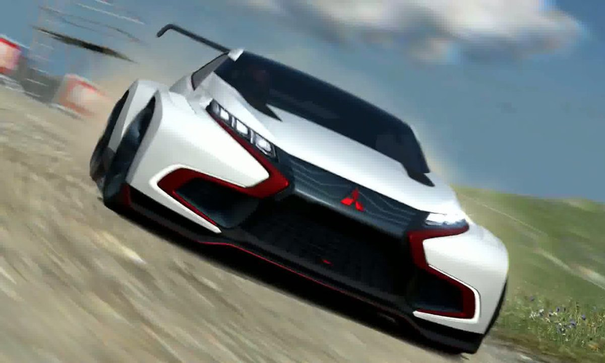 Mitsubishi Concept XR-PHEV Evolution Vision GT 2014 : présentation officielle