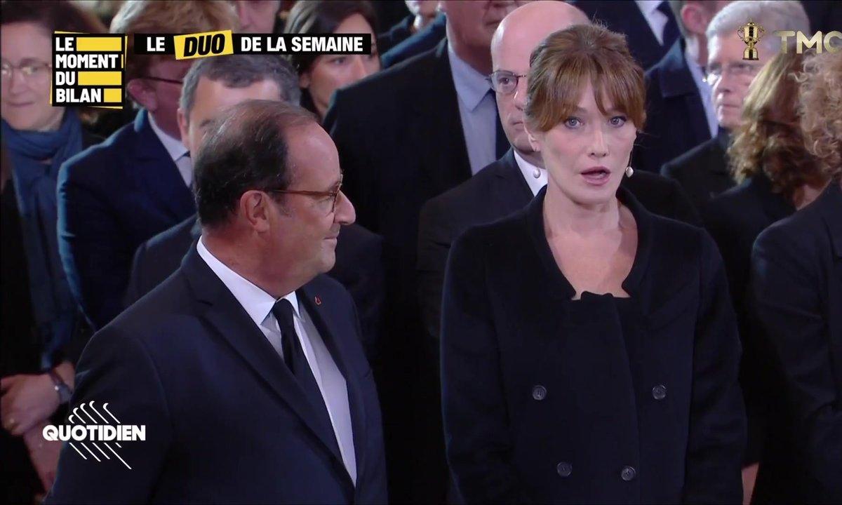 Le Moment du bilan : Hollande et Carla Bruni, Tom Cruise en Ukraine, ...
