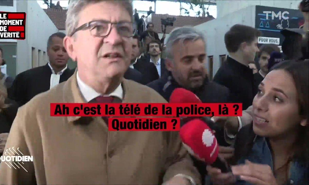 Le Moment de vérité : le 1er jour très tendu du procès de Jean-Luc Mélenchon