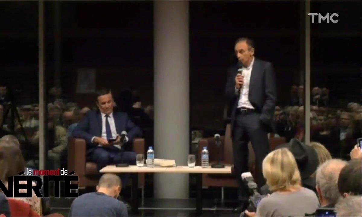 Le Moment de vérité : ambiance tendue pour la venue d'Eric Zemmour chez Nicolas Dupont-Aignan